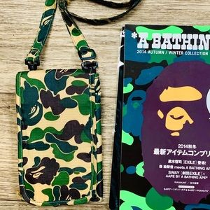 🔥 BAPE CAMO Crossbody Messenger Tote Bag 🔥